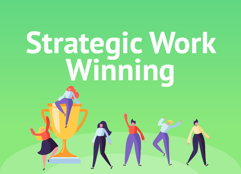 People Positive Strategic Work Winning Home Button